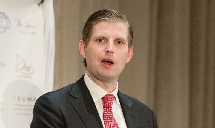 Eric Trump, son of President Donald Trump, complained about people who are mean on Twitter.