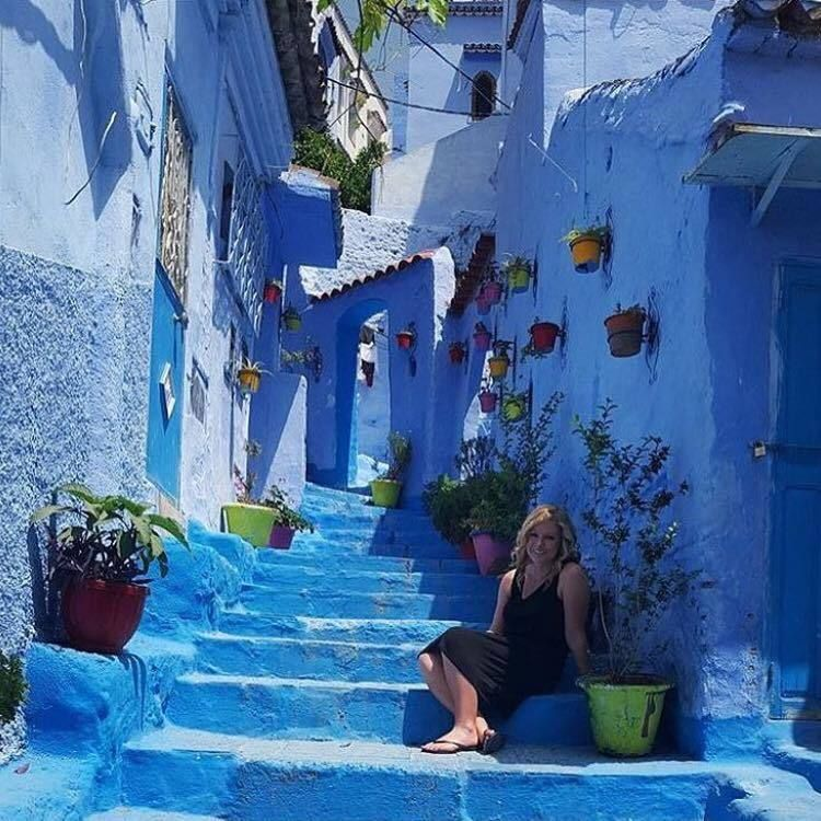 The blue lanes of Chefchaouen, Morocco