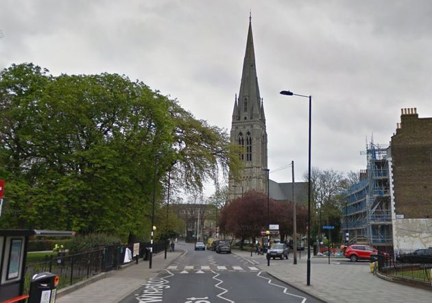 Three children were victims of a hate crime on Clissold Road in north