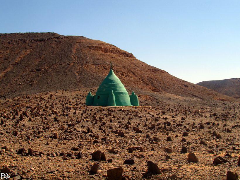 Cemetery in Sudan