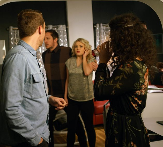 Nathan sees Bethany's discomfort, but ignores