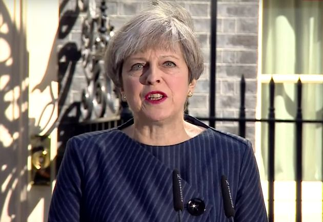 Theresa May announces she would like a general election on June