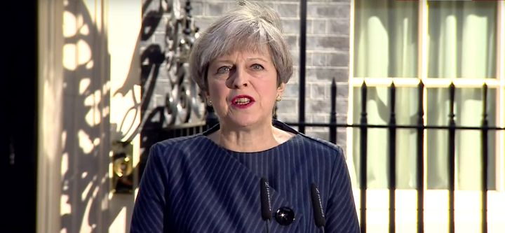 Theresa May announces she would like a general election on June 8