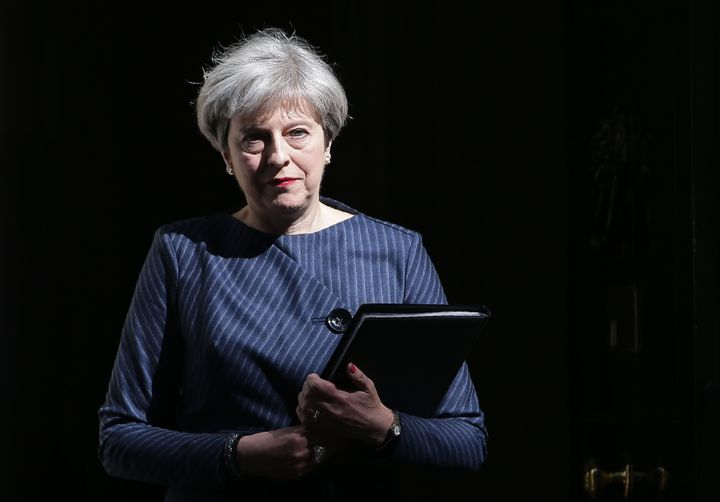 Theresa May's official spokesman ruled out a snap election just last month