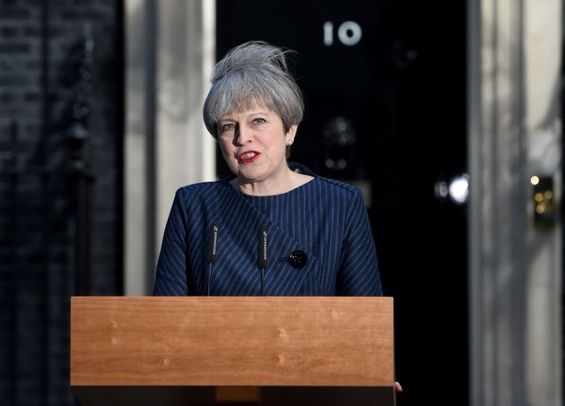 Theresa May announced a snap election to be held on June