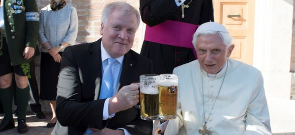 May We All Be As Chill As Pope Benedict On His 90th Birthday