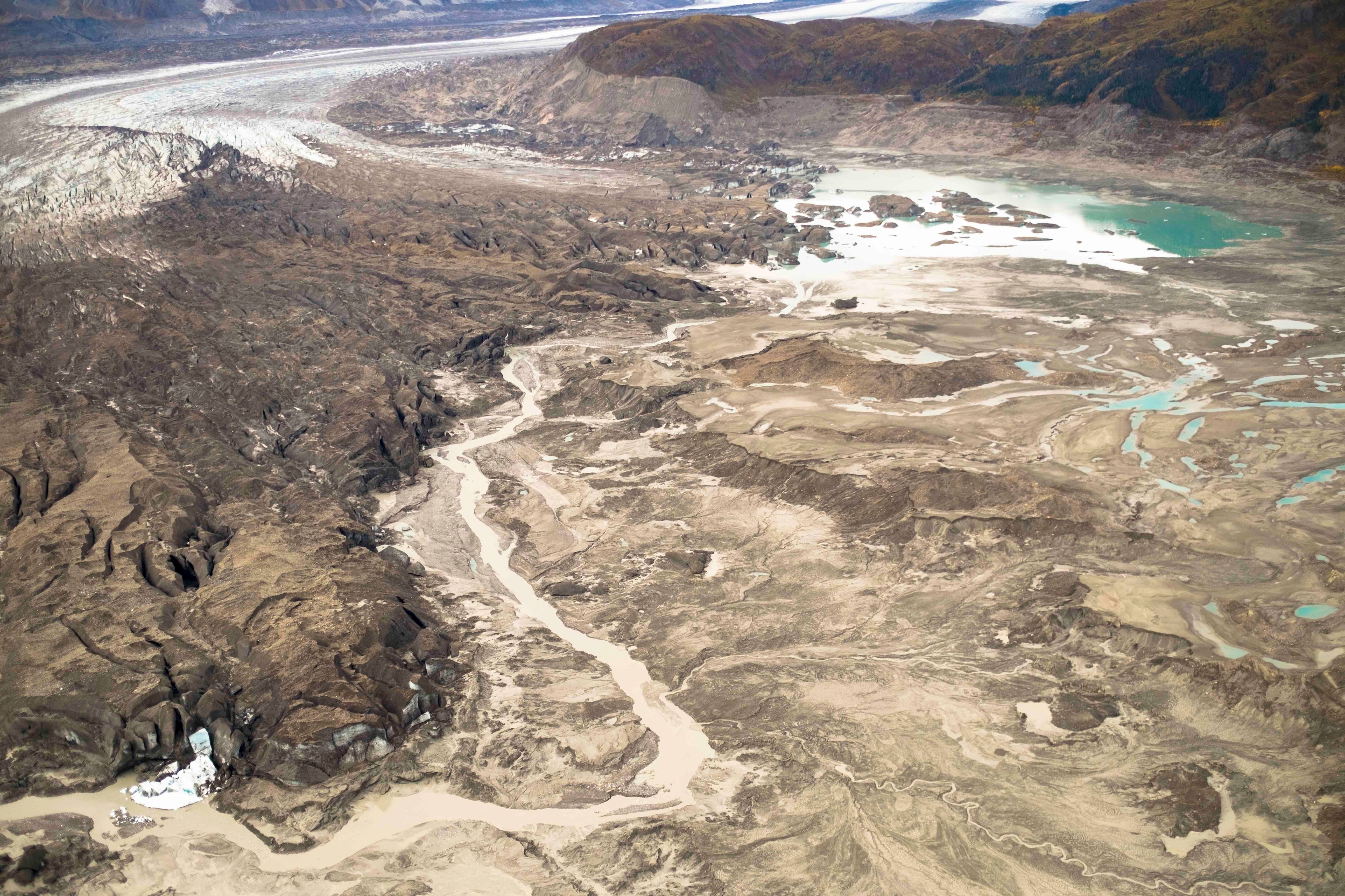 Canada's Slims River Disappeared In Just Four