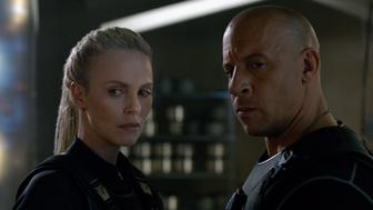"""Cipher (CHARLIZE THERON) recruits Dom (VIN DIESEL) in """"The Fate of the Furious""""  On the heels of 2015's """"Furious 7,"""" one of the fastest movies to reach $1 billion worldwide and the sixth-biggest global title in box-office history, comes the newest chapter in one of the most popular and enduring motion-picture serials of all time."""