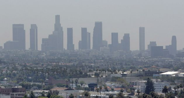 Los Angeles' air quality improved over the last year but it continues to have the nation's worst ozone
