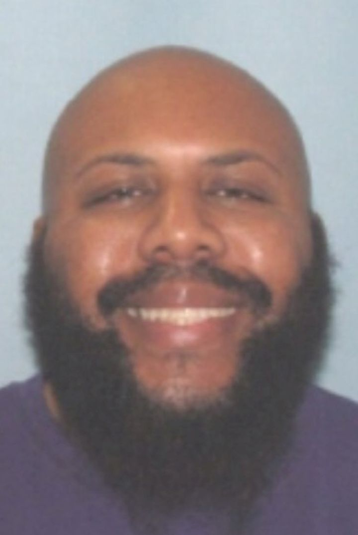 Steve Stephens, who Cleveland Division of Police said was being sought in connection with the killing of an individual, is se