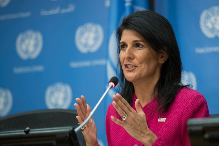 """We are against all forms of discrimination, including against people based on sexual orientation,"" Nikki Haley wrote.&"