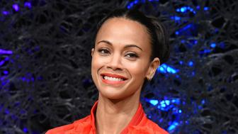 TOKYO, JAPAN - APRIL 11:  Actress Zoe Saldana attends the 'Guardians of the Galaxy Vol.2' press conference at the Ritz-Carlton on April 11, 2017 in Tokyo, Japan.  (Photo by Jun Sato/WireImage)