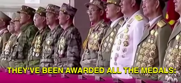 Colbert Shows Exclusive Footage Of Kim Jong-Un Preparing For War