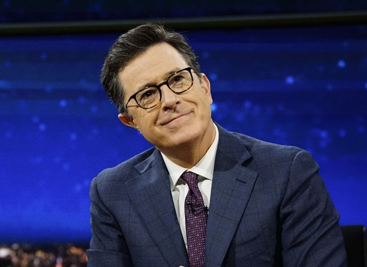 "Late-night shows including ""The Late Show with Stephen Colbert"" would go dark immediately in the event of a writers"