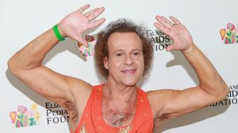 LOS ANGELES, CA - JUNE 02:  Fitness personality Richard Simmons attends the Elizabeth Glaser Pediatric AIDS Foundation's 24th Annual 'A Time For Heroes' Event on June 2, 2013 in Los Angeles, California.  (Photo by Imeh Akpanudosen/Getty Images)