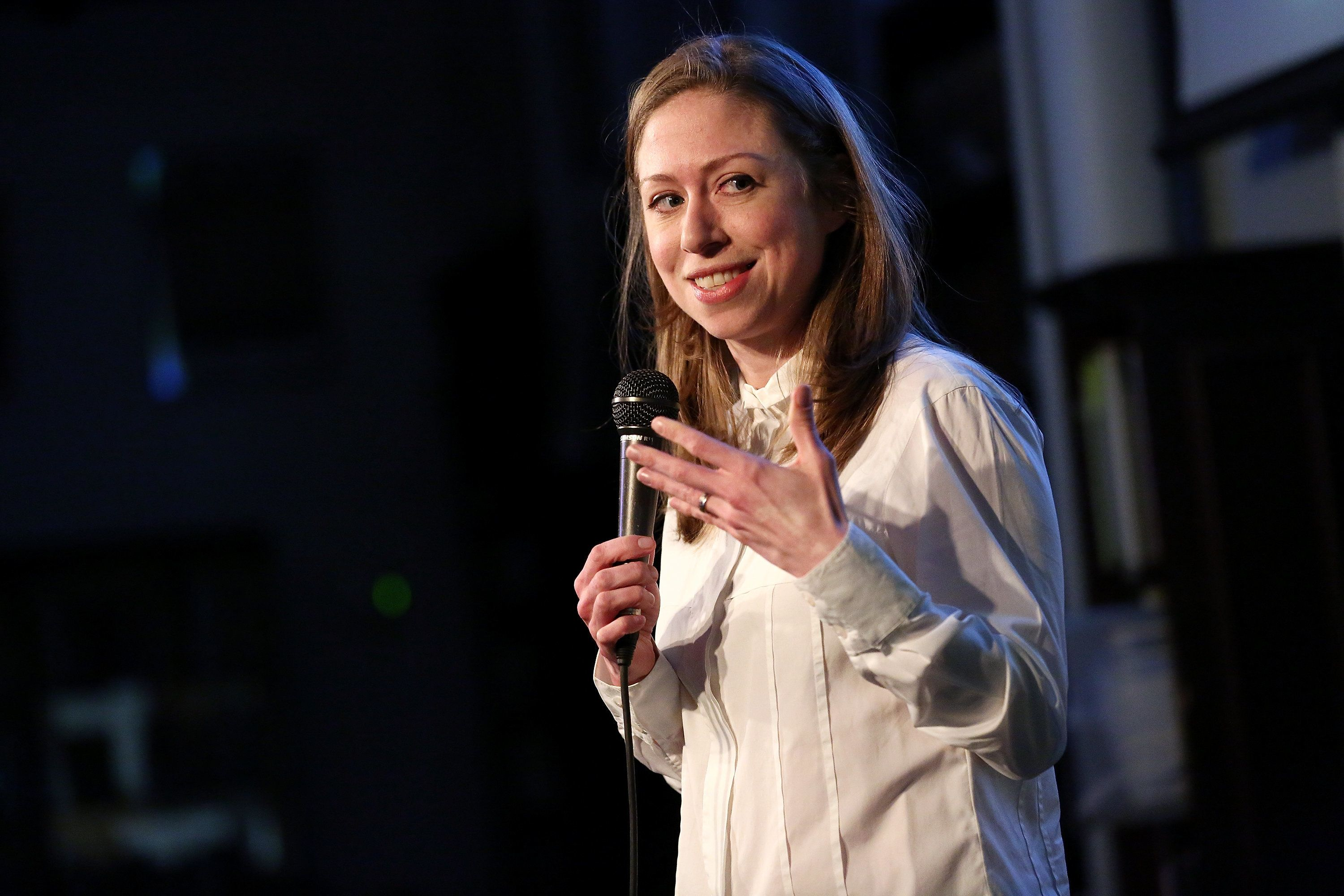 In an essay for Well+Good, Chelsea Clinton wrote about the importance of normalizing menstruation and breastfeeding.