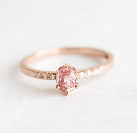 19 Pink Engagement Rings So Pretty Theyll Make You Blush HuffPost