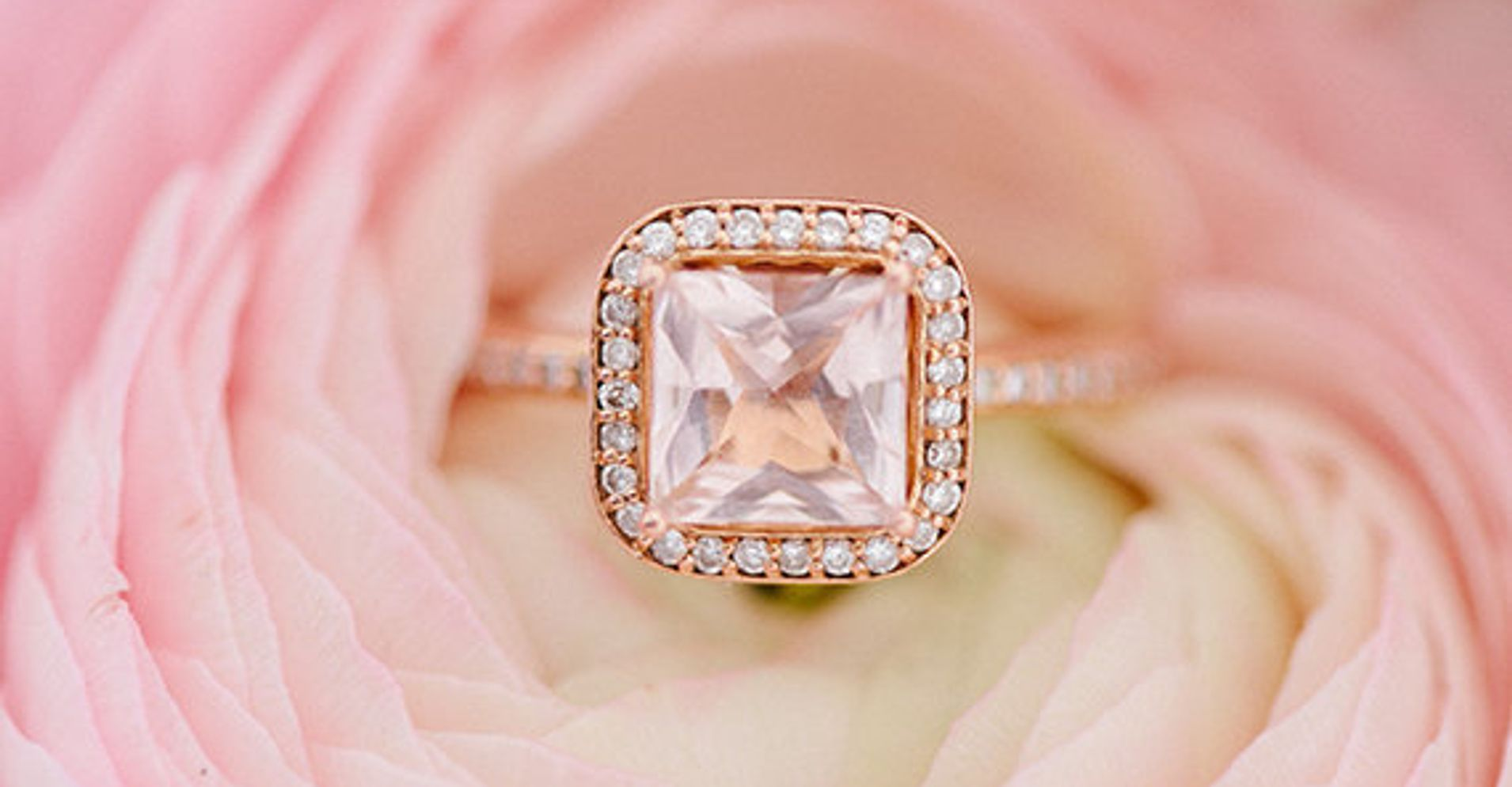 19 Pink Engagement Rings So Pretty, They\'ll Make You Blush ...