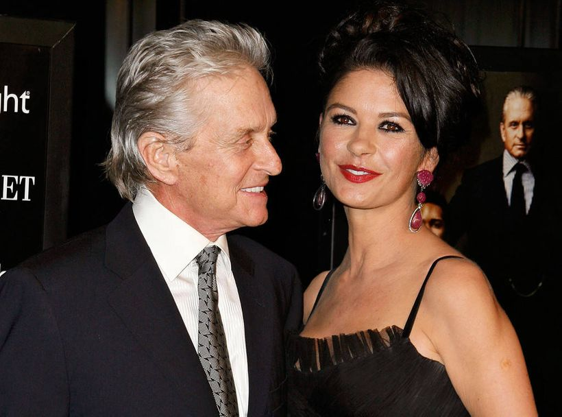 Catherine Zeta Jones and husband, Michael Douglas. The actress and role model has chosen to speak publicly about her bipolar