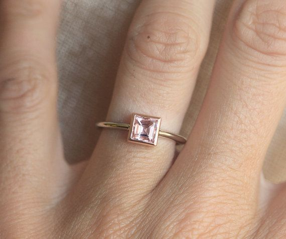 """<i>Buy itfrom <a href=""""https://www.etsy.com/listing/244164952/gold-morganite-ring-pink-morganite-ring?ref=shop_home_act"""