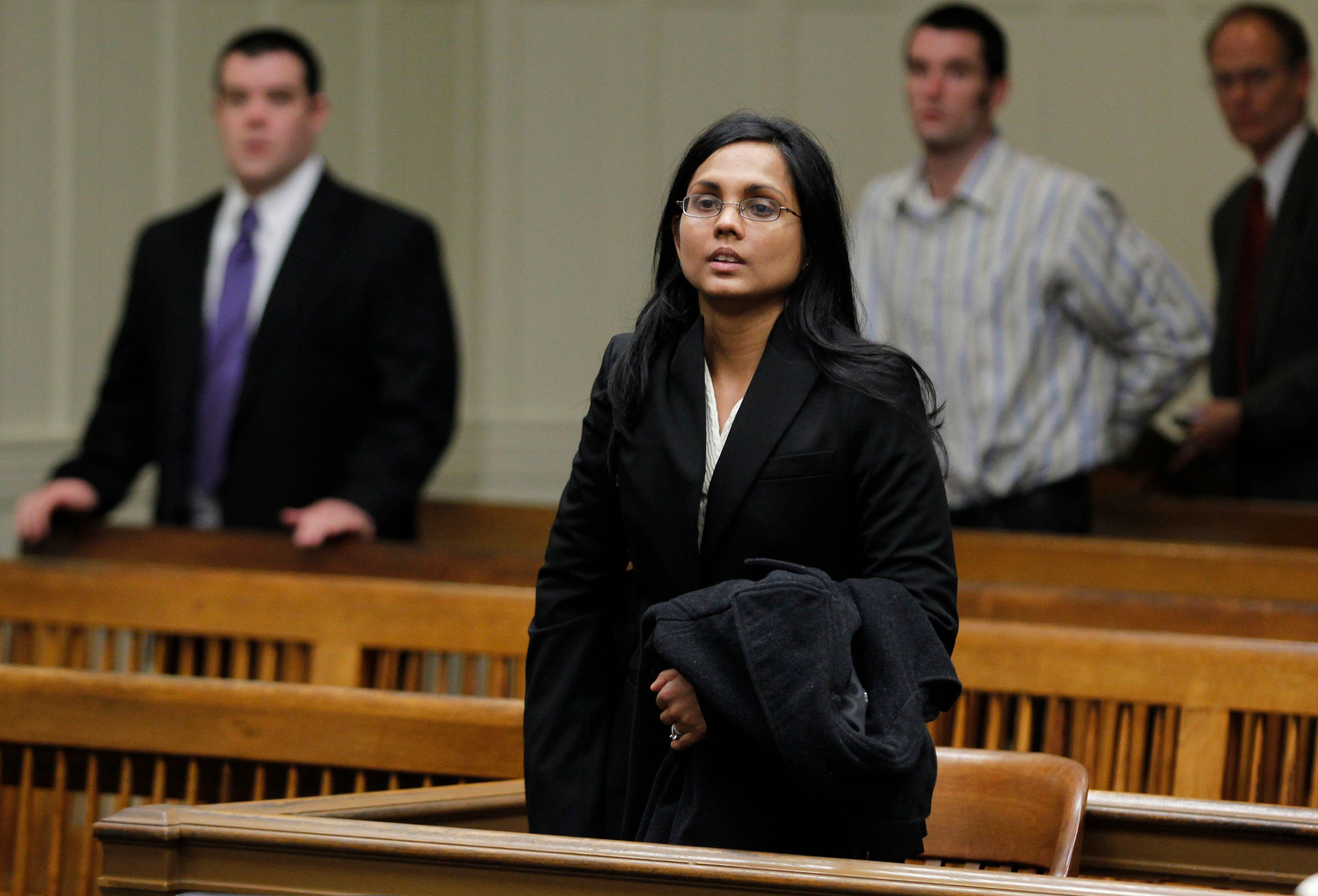 Authorities say former chemist Annie Dookhan falsified evidence at the Massachusetts state crime lab.