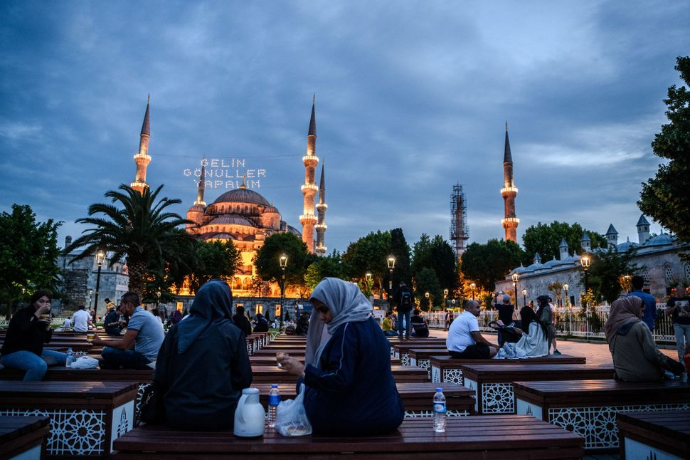 """Turkey is fast becoming yet another Middle Eastern country,"" and less of a secular democracy,"" Shafak says."