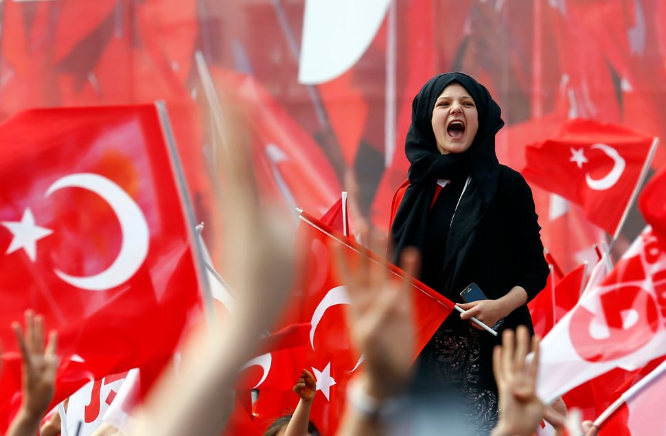 """This referendum is going to have a massive impact on Turkey's destiny for generations to come,"" the Turkish novelist s"