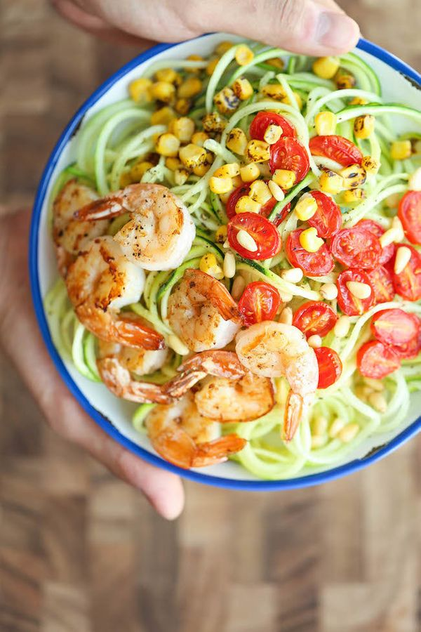 """<strong>Get the <a href=""""http://damndelicious.net/2015/08/22/shrimp-and-zucchini-noodles/"""" target=""""_blank"""">Shrimp And Zucchin"""