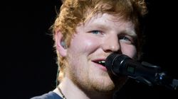 Ed Sheeran Gets Mis-Spelled 'Galway Grill'