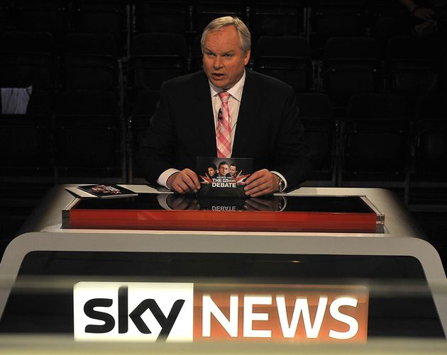 Boulton fronts Sky's political coverage and speculated on the PM's health while waiting for her announcement...