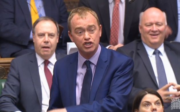 Lib Dem leader Tim Farron says only his party can stop Theresa May winning the
