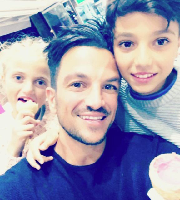 Peter Andre Hits Back At Critics After Posting Video Of Kids Hanging Out With Him In