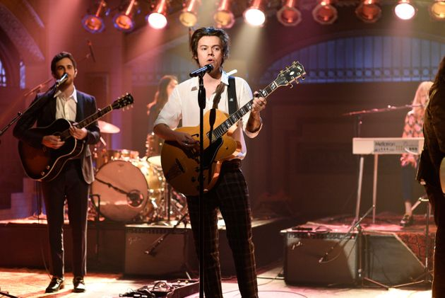 Harry Styles debutednew track 'Ever Since New York' on 'Saturday Night