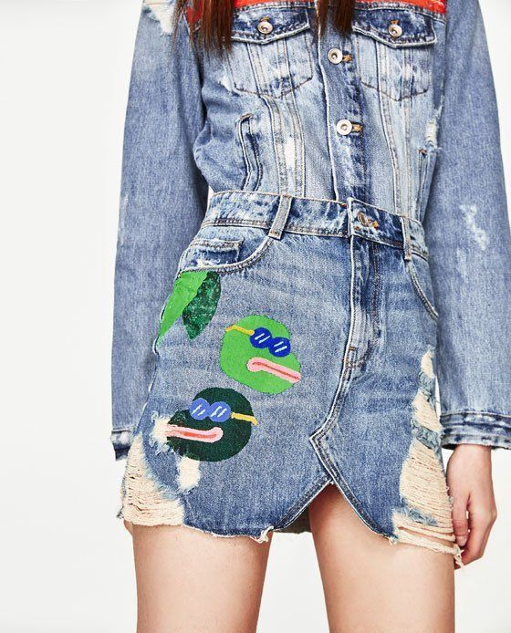 Zara's 'Pepe The Frog' Skirt Is Just