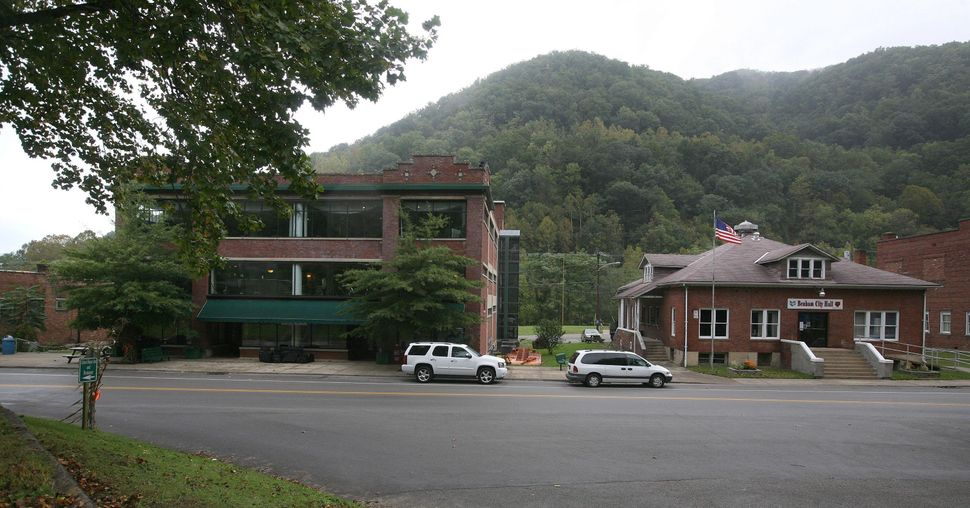 The Kentucky Coal Mining Museum, left, in Benham.