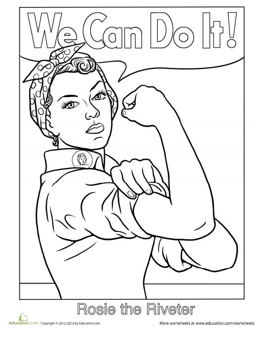21 Printable Coloring Sheets That Celebrate Girl Power ...