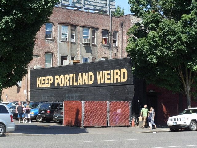 Portland is hip.