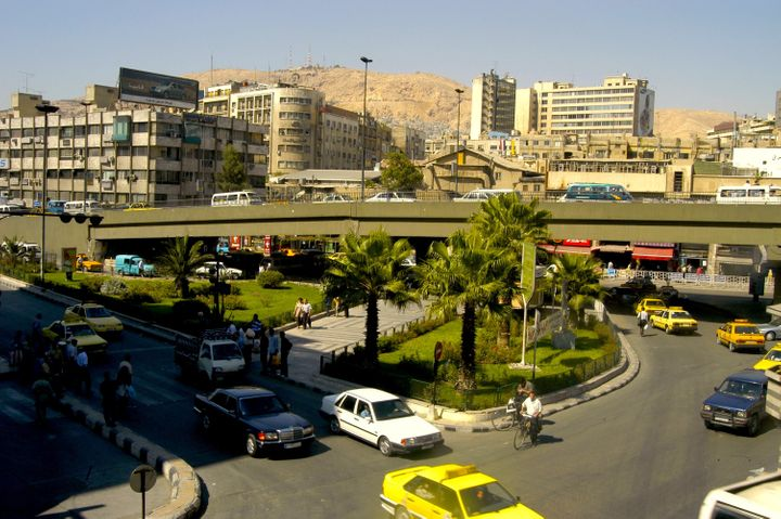 Damascus was a thriving city of five million people. Photo by Karim Shamsi-Basha