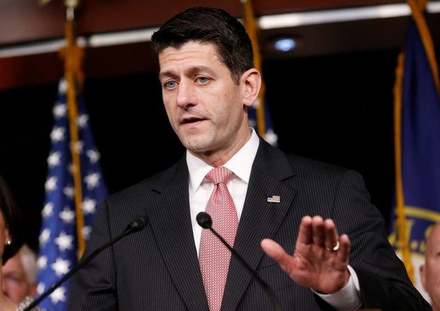 Paul Ryan Praises 'Bold Leadership' Of Theresa May And Proposes US-UK Free Trade