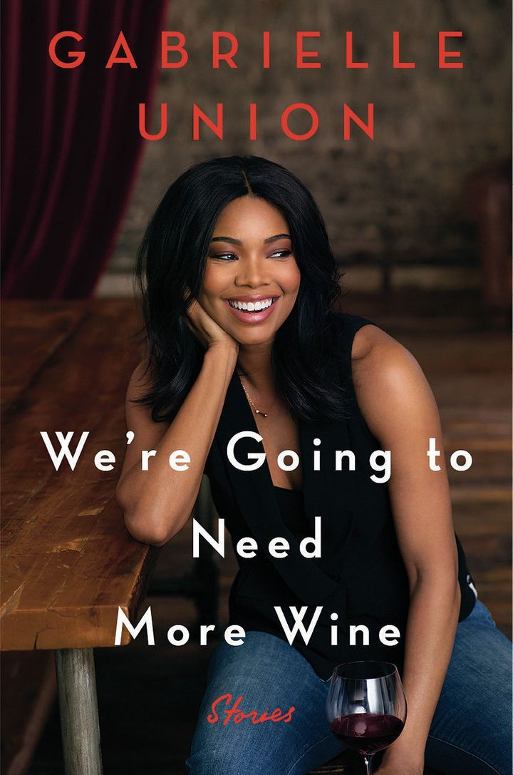 The cover of Gabrielle Union's forthcoming book.