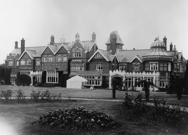 Bletchley Park in 1926.