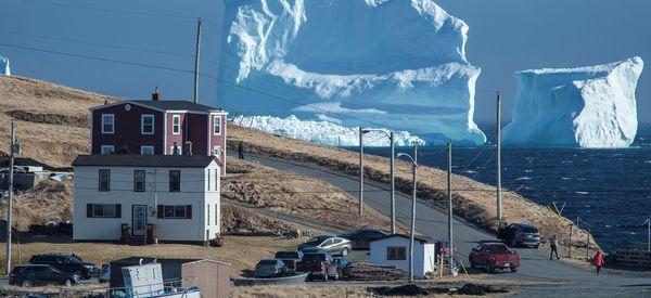A Gigantic Iceberg Has Turned Up Off The Coast Of Canada