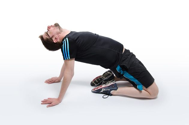 London marathon runners here are 11 exercises and for Floor quad stretch