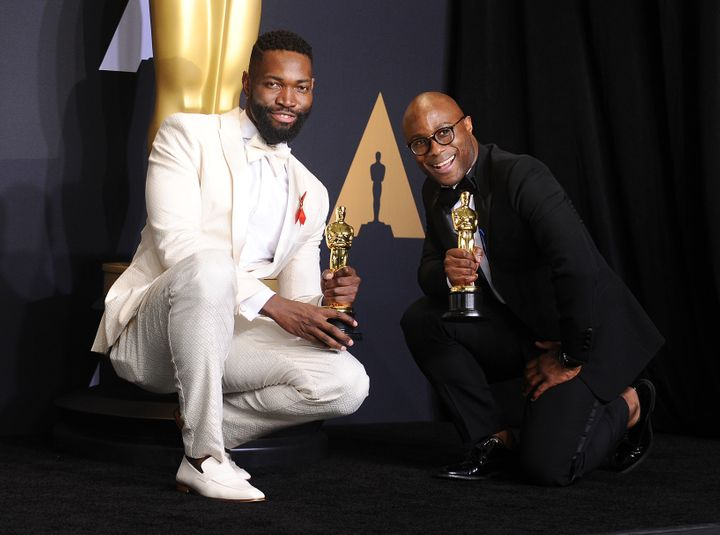 Barry Jenkins, right, and Tarell Alvin McCraney will make a celebratory return to their hometown this weekend.