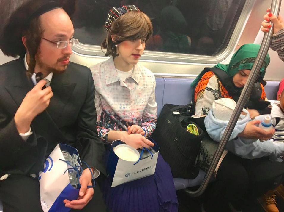 Viral Photo From NYC Subway Captures America At Its