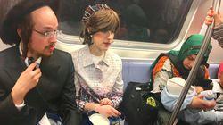 Esta foto viral del metro de Nueva York capta lo mejor de