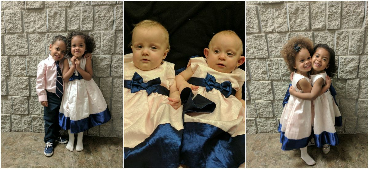 Carrie and Craig Kosinski's three sets of twins were all born on February 28.