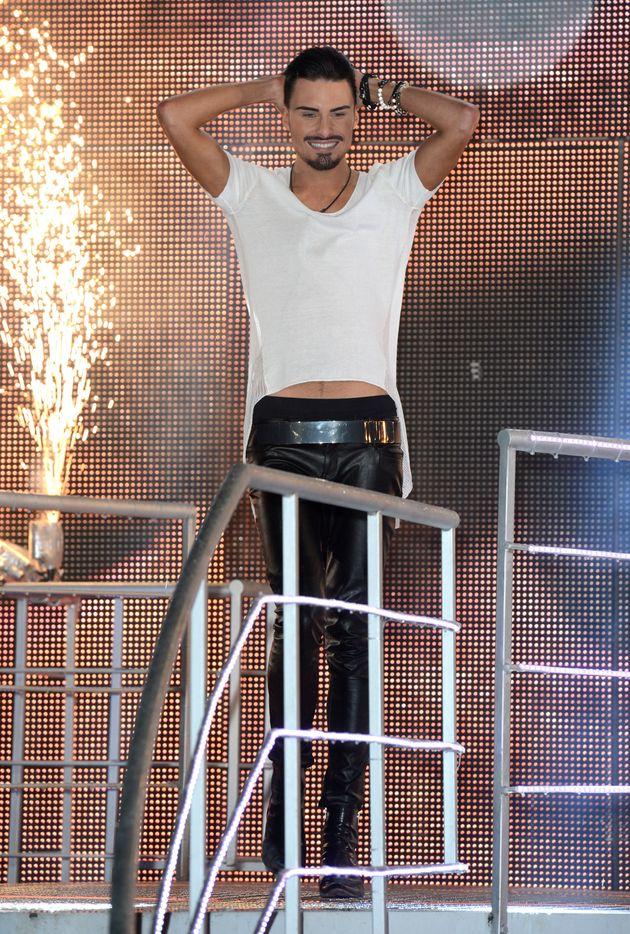 Rylan won the January 2013 series of 'Celebrity Big