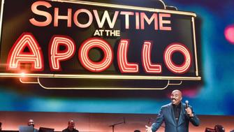 SHOWTIME AT THE APOLLO: Steve Harvey hosts SHOWTIME AT THE APOLLO airing Monday, Dec. 5 (8:00-10:00 PM ET/PT) on FOX. (Photo by FOX via Getty Images)