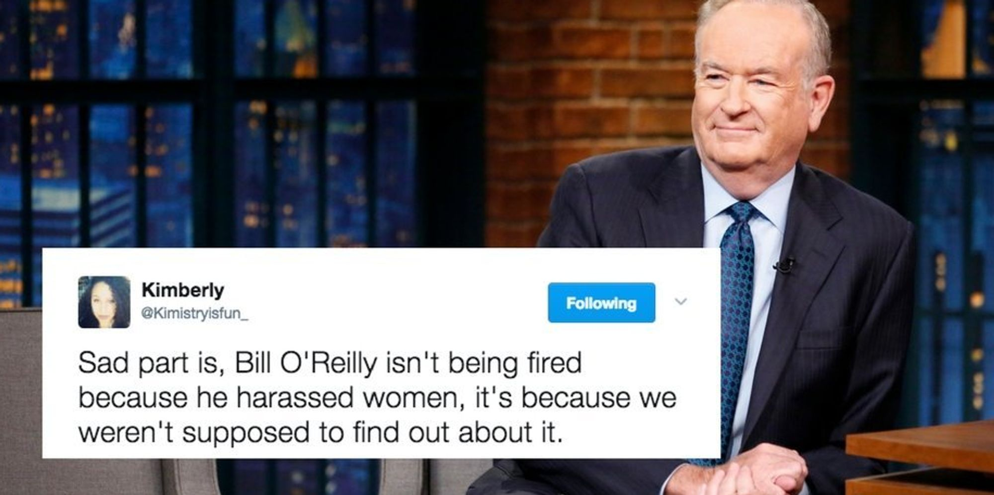 twitter reacts appropriately to bill o reilly getting the ax at twitter reacts appropriately to bill o reilly getting the ax at fox news the huffington post